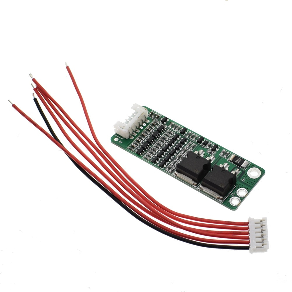 5S 15A Li-ion Lithium Battery BMS 18650 Charger Protection Board 18.5V 21V Cell