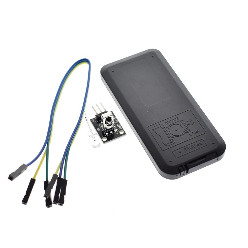 Infrared IR Wireless Remote Control Module Kits DIY Kit HX1838 For arduino Raspberry Pi