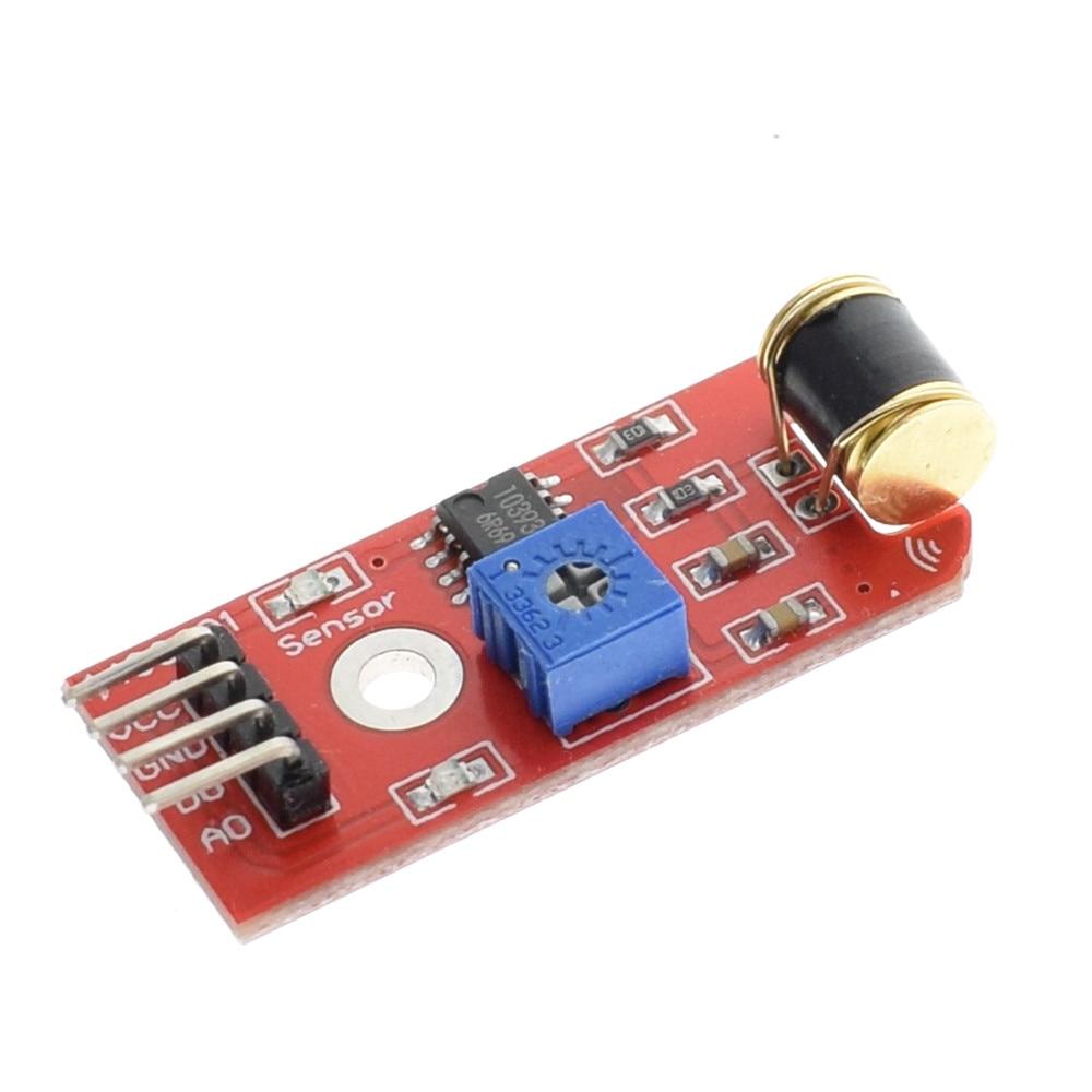 801s Shake vibration Sensor Module For Arduino Open Source LM393 3-5VDC TT Logic