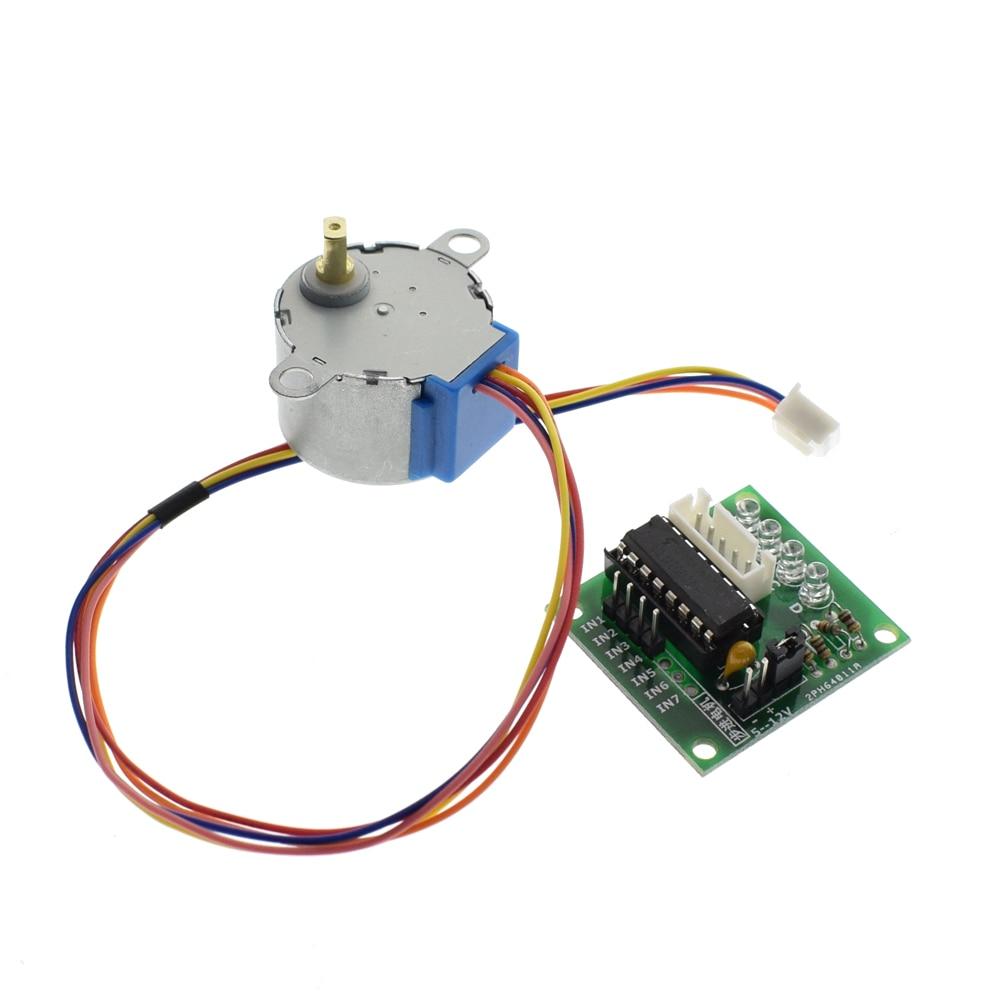 28BYJ-48-5V 4 phase Stepper Motor+ Driver Board ULN2003 for Arduino
