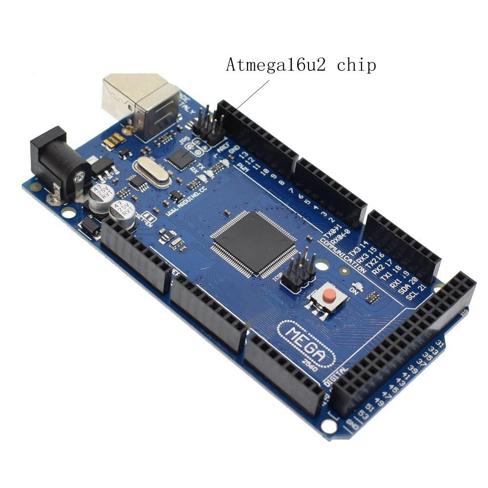 mega2560 REV3 ATmega2560-16AU Board