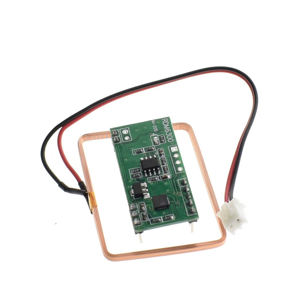 125Khz RFID Reader Module RDM6300 UART Output Access Control System for Arduino diy