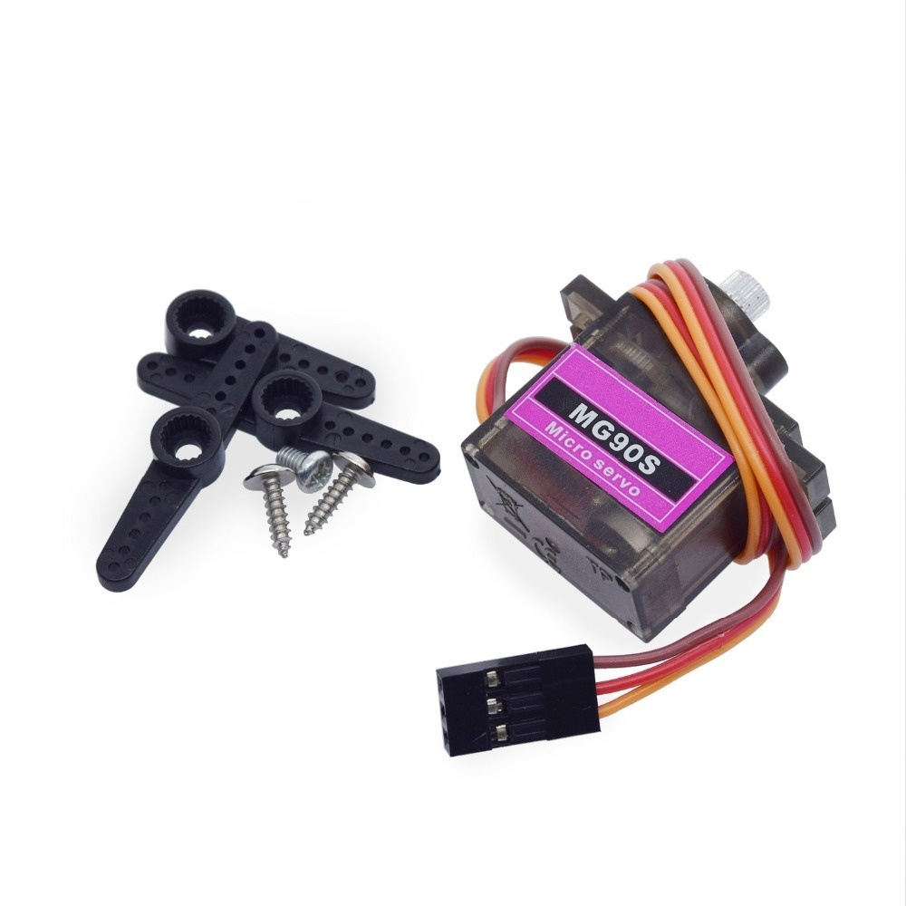 MG90S Metal gear Digital 9g Servo For Rc Helicopter plane boat car MG90 9G