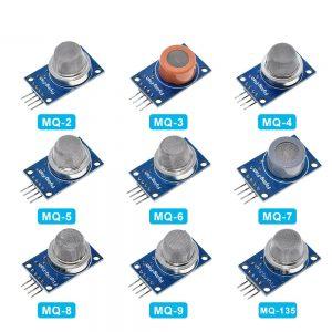 MQ-2 MQ-3 MQ-4 MQ-5 MQ-6 MQ-7 MQ-8 MQ-9 MQ-135 Detection Smoke methane liquefied Gas Sensor Module