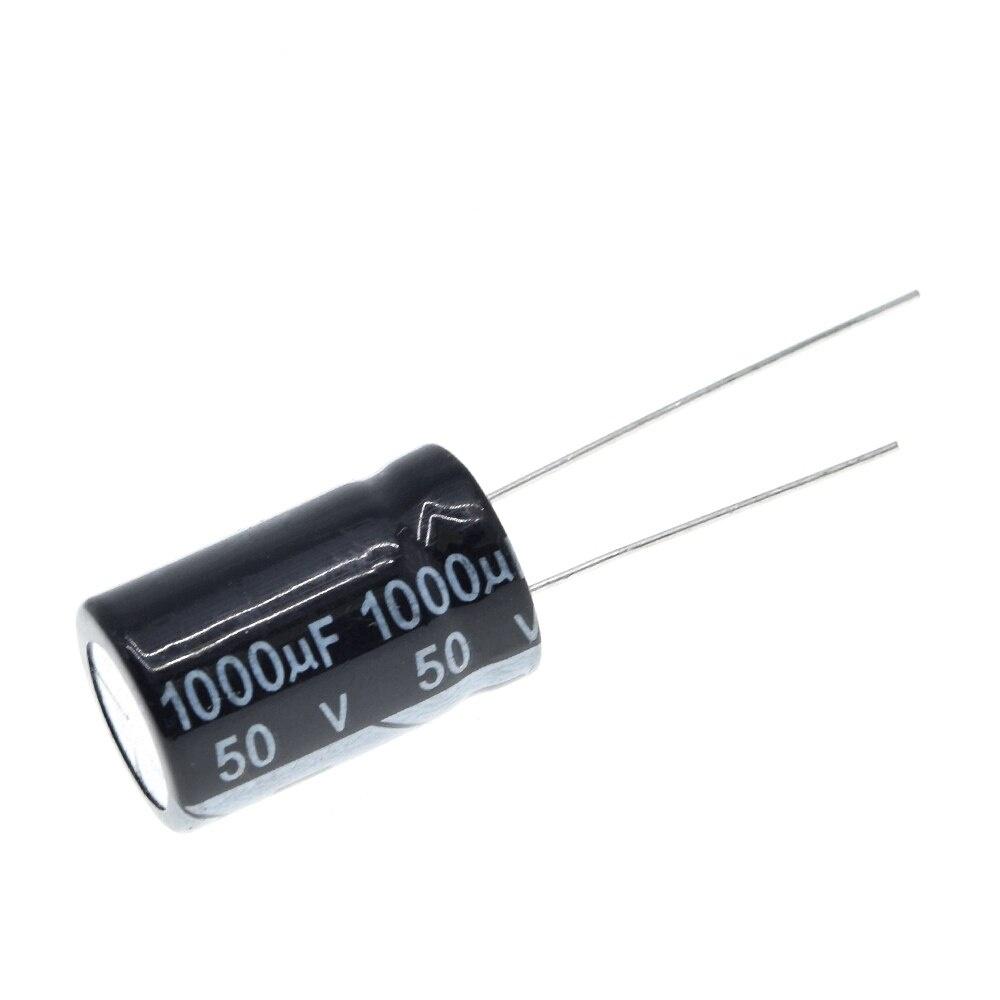 Aluminum electrolytic capacitor 1000uF 50V 13 * 20 mm