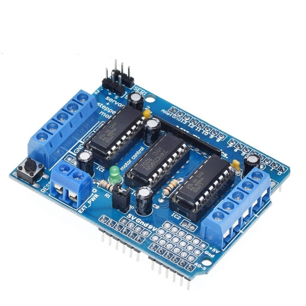 L293D Motor Drive Shield dual for Arduino , Motor drive expansion board motor control shield