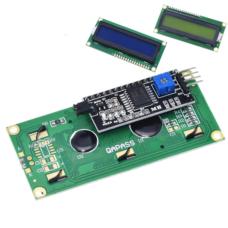 LCD module Blue Green  screen IIC/I2C 1602 for arduino 1602 LCD UNO r3 mega2560 LCD1602