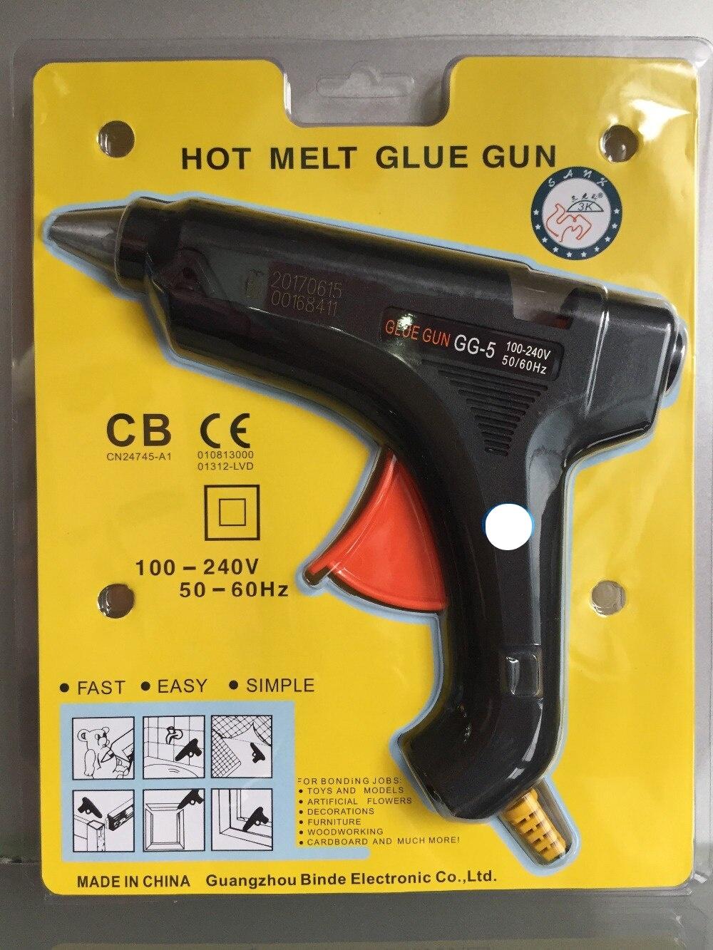 GG5-Hot Melt Glue Gun AC 100-240V 50-60Hz 60W Power