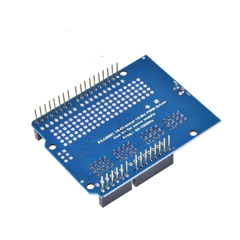 Motor Stepper Servo Robot Shield for Arduino I2C v2 Kit w/ PWM Driver TOP