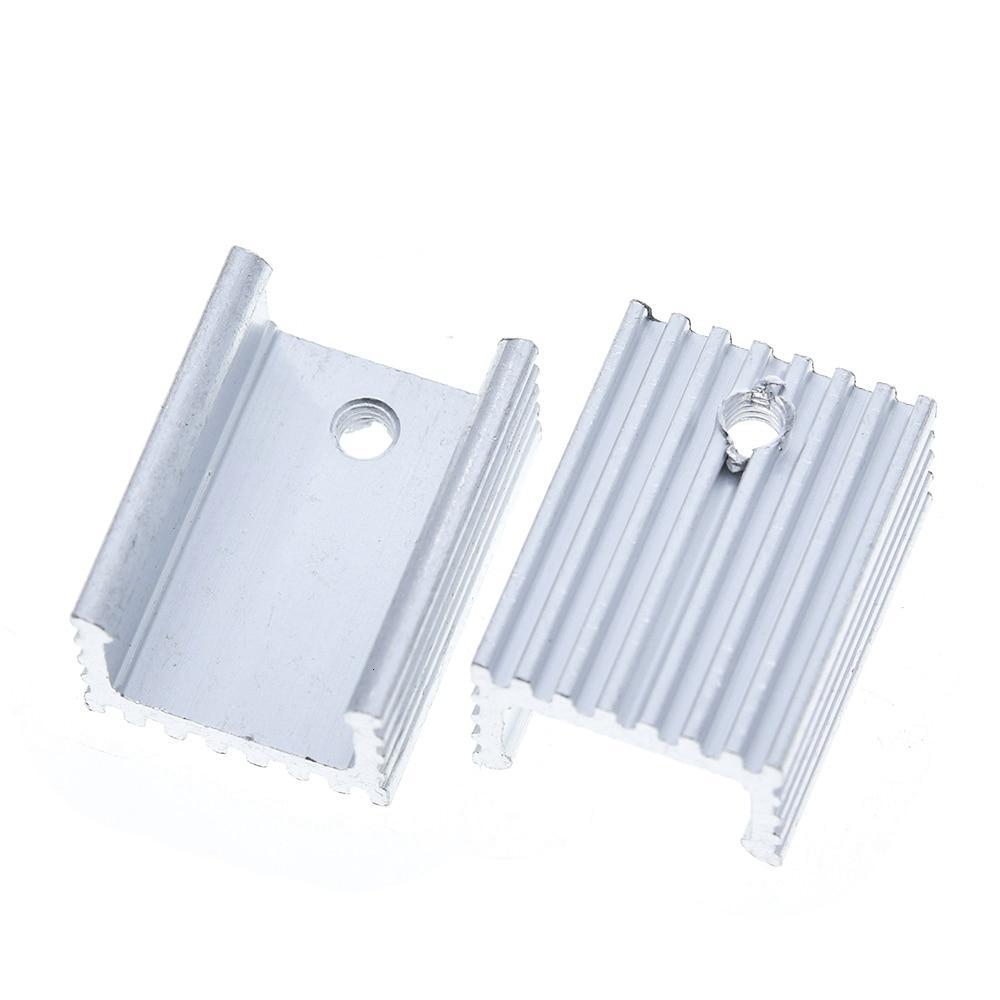 1pcs Heat Sink Transistor Radiator TO220 Cooler Cooling 20*15*10MM