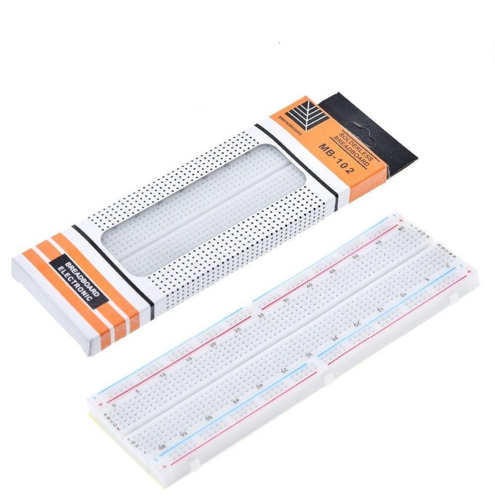 Breadboard 830 Point PCB Board MB-102 MB102