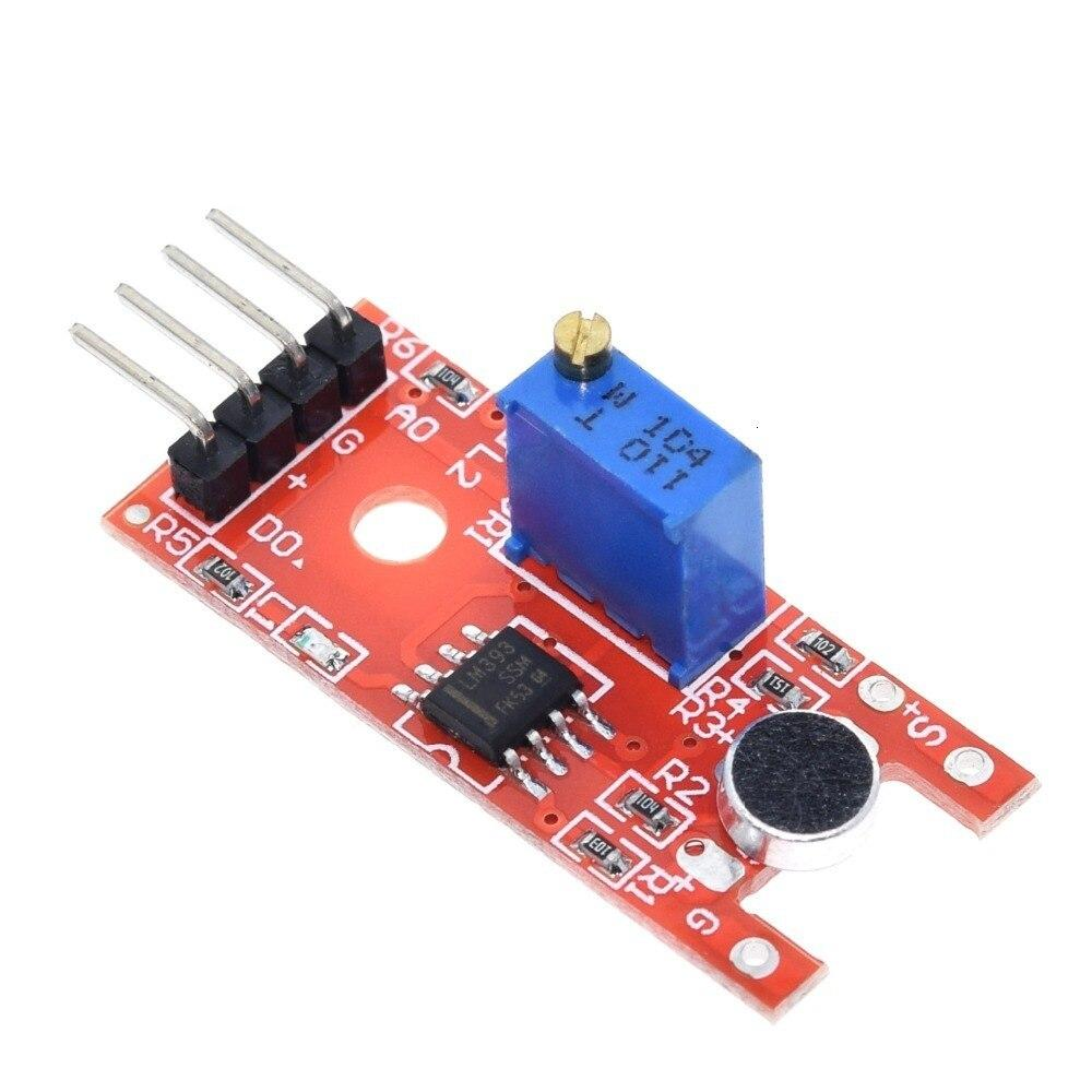 Microphone Voice Sound Sensor Module For Arduino Analog Digital Output Sensors KY-038