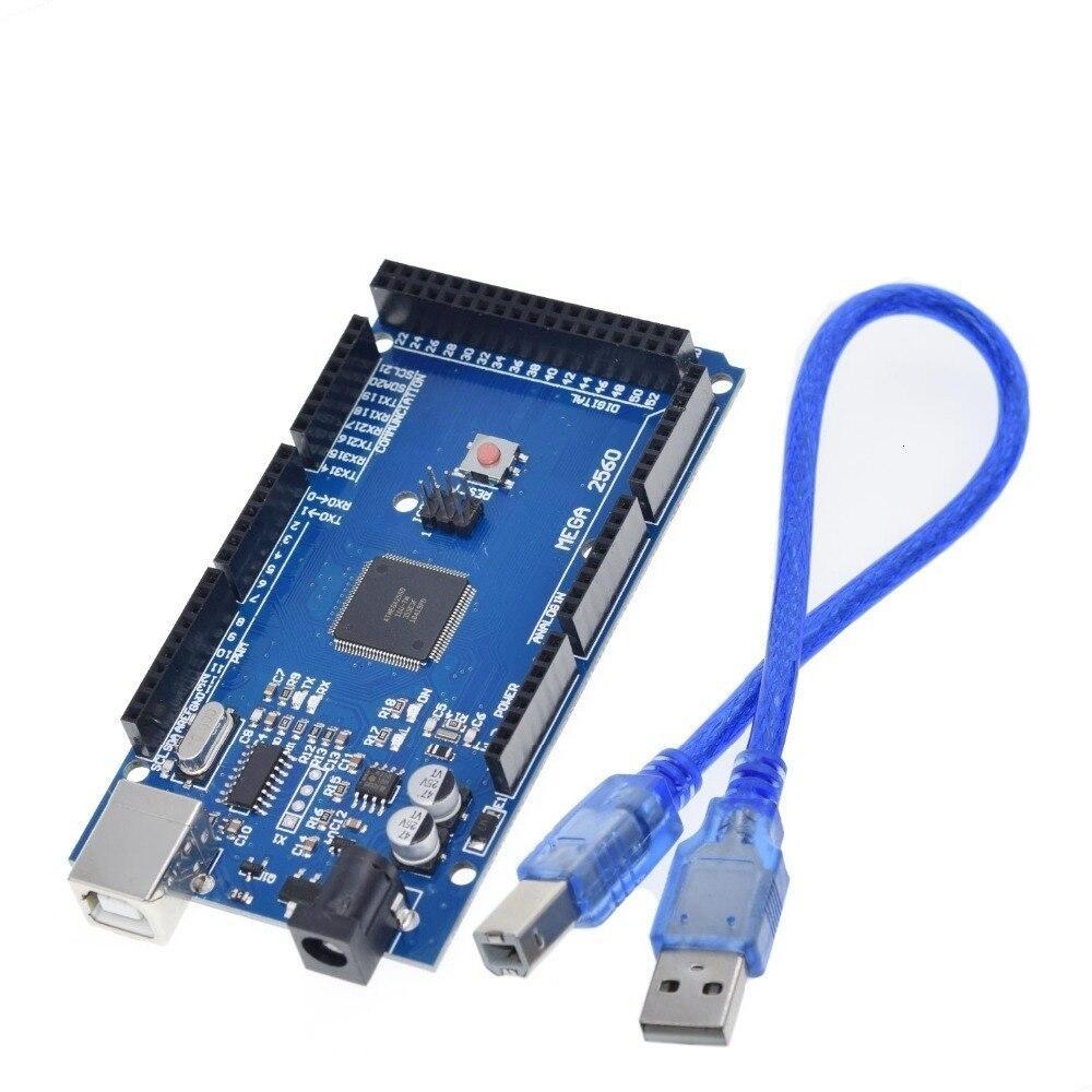 MEGA2560 MEGA 2560 R3 (ATmega2560-16AU CH340G) AVR USB board Development board MEGA2560 for arduino