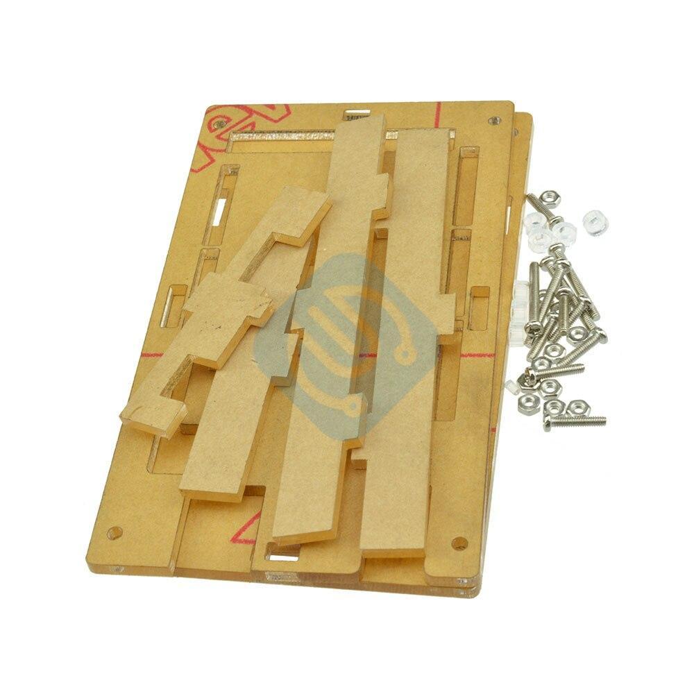 Smart Electronics Mega2560 Transparent Acrylic Box Shell Compatible for Arduino Mega 2560 R3 Case Diy Kit Electronic