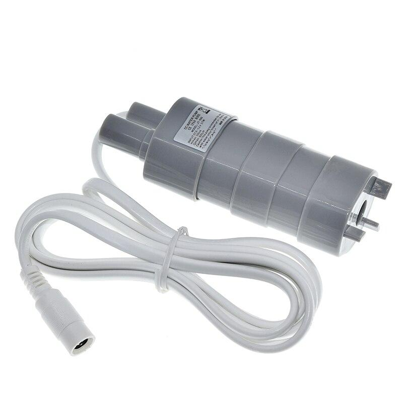 DC 12V 600L/H high pressure Dc Submersible water Pump Three-wire Micro Motor Water Pump with adapter 5.5X2.1 USB