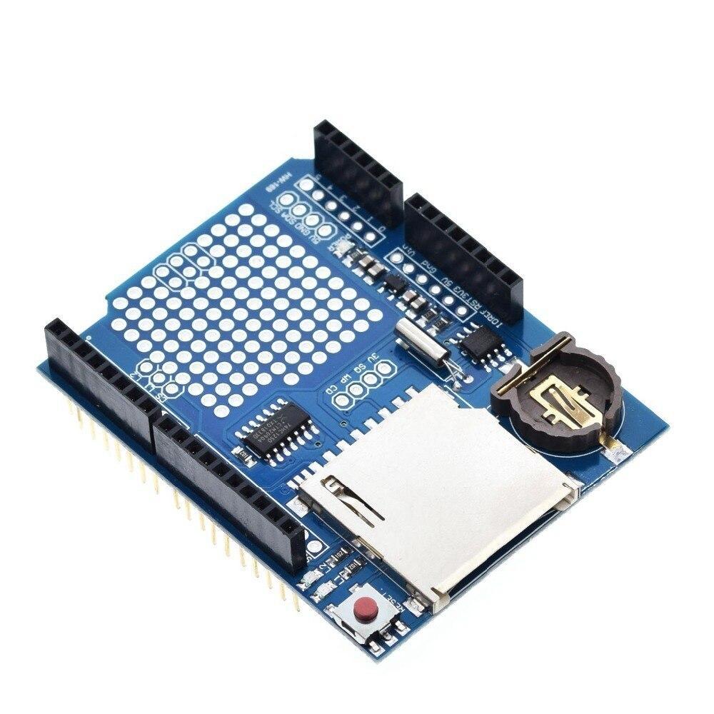 Data Logger Module Logging Recorder Shield V1.0 for Arduino UNO SD Card