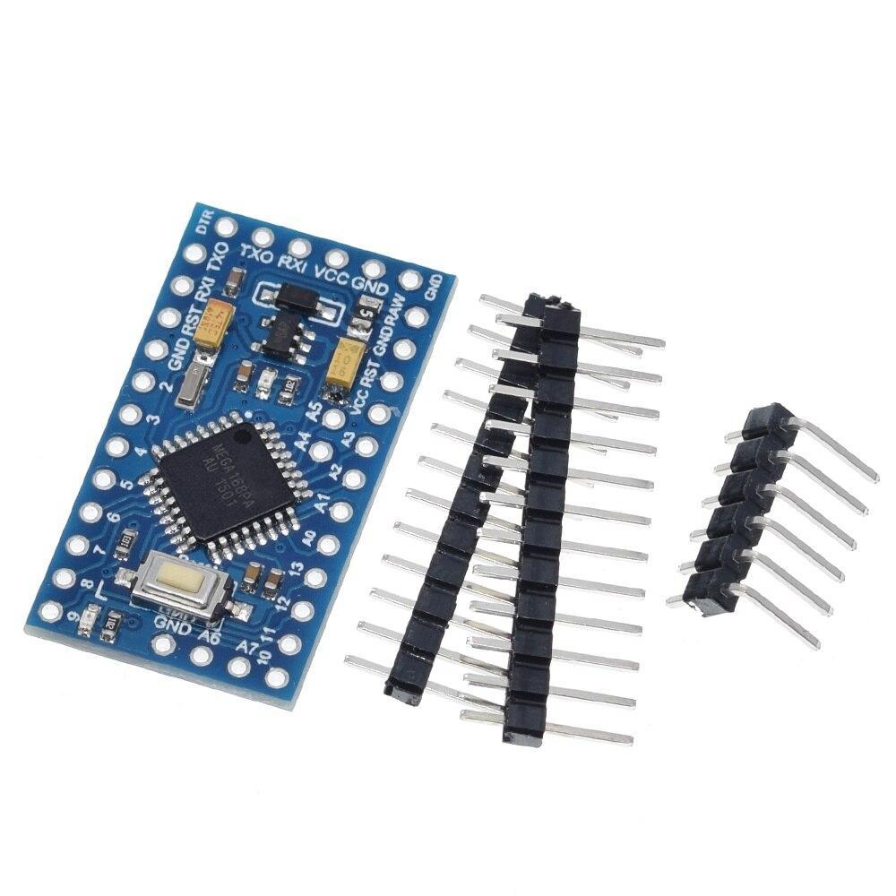 Pro Mini 168 Mini 5V/16M ATMEGA168 ATMEGA168P-AU 5V/16MHz For Arduino